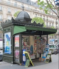 Example of a French Kiosk