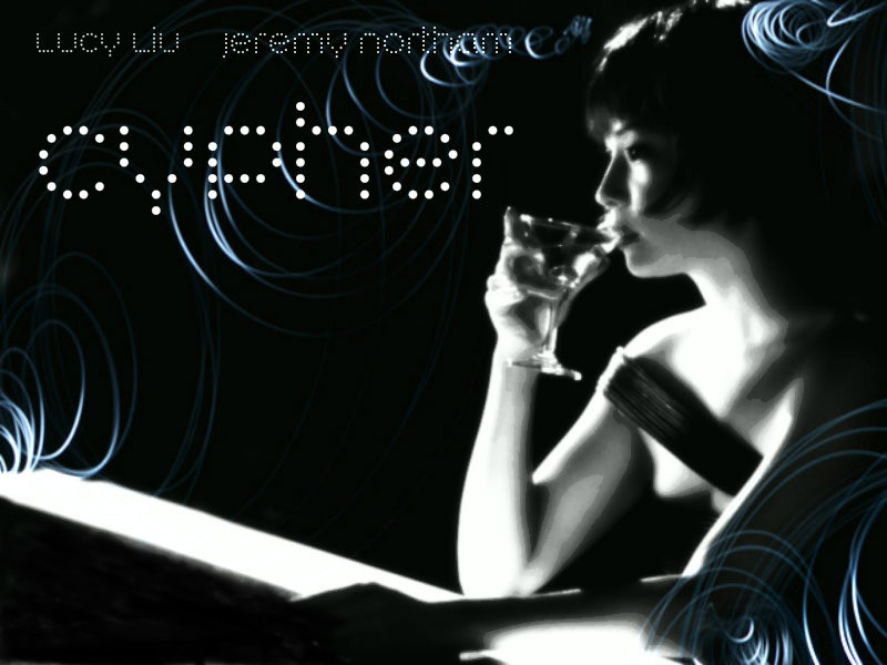 Alternative Minimalist Movie Poster for Cypher staring Lucy Liu