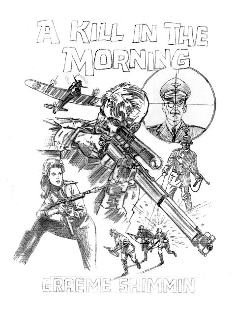 A Kill in the Morning Cover Design First Draft