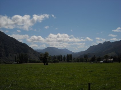 Eventually the Four Rivers Plain, here the Matiri River leads to the Thousand Acre Plateau