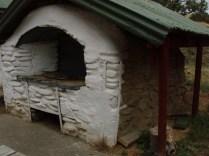 Quail Flat stone bread oven Clarence Reserve, Marlborough