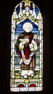 Harrison family memorial window in St Aidans