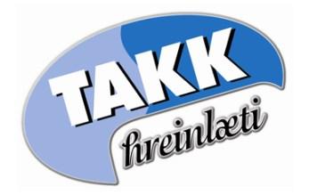 Takk hreinlæti logo