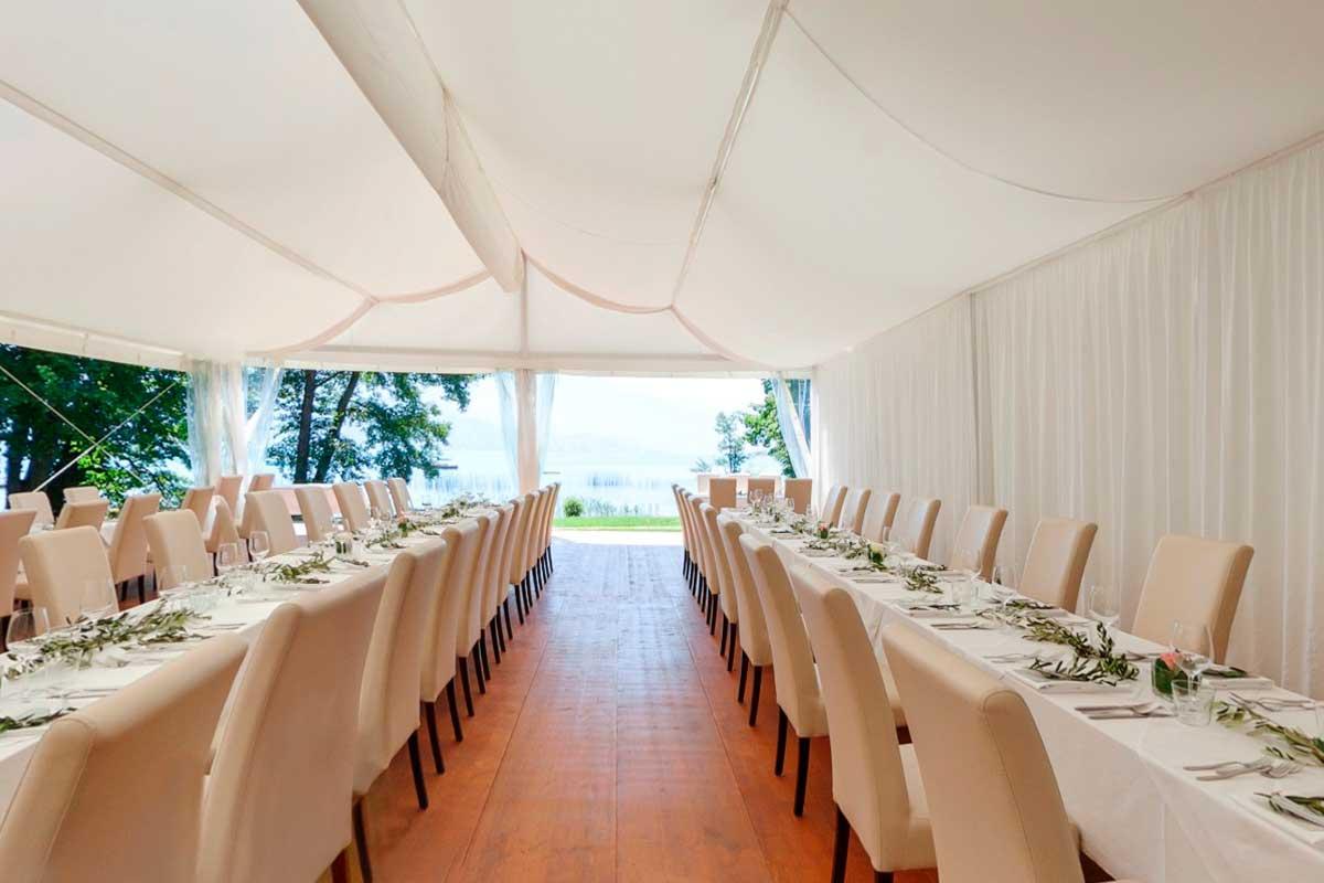 Heiraten direkt am Attersee - Hochzeit im Grafengut