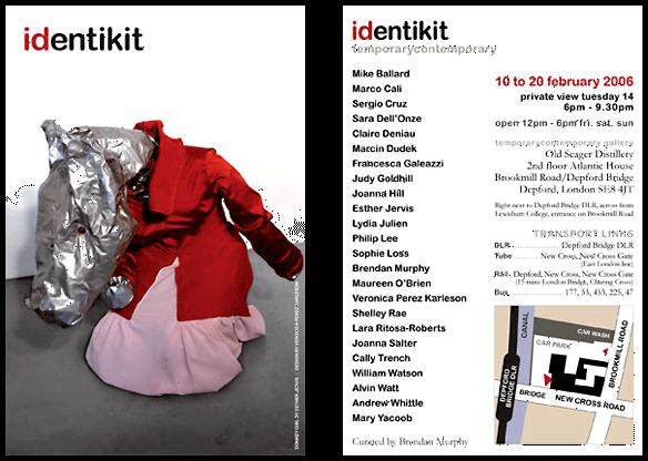 Diseño de flyer de Identikit