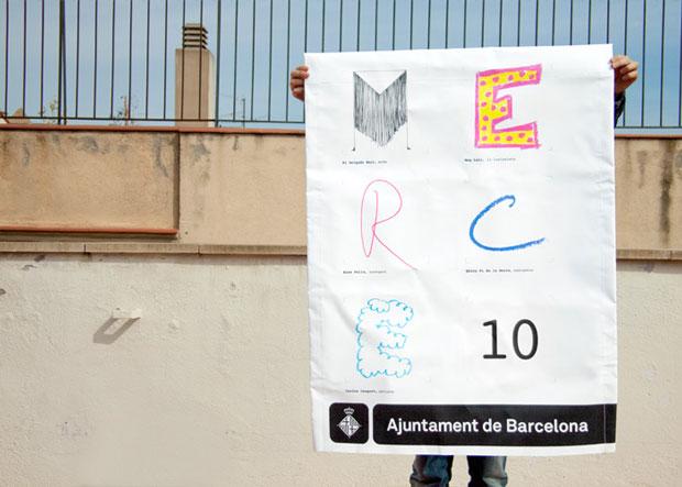 ClaretSerrahima – cartel de La Mercé 2010