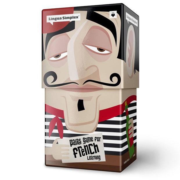 02 LinguaSimplex Lingua Simplex, divertido y esterotipado packaging de Amelung Design