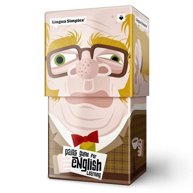 05 LinguaSimplex Lingua Simplex, divertido y esterotipado packaging de Amelung Design