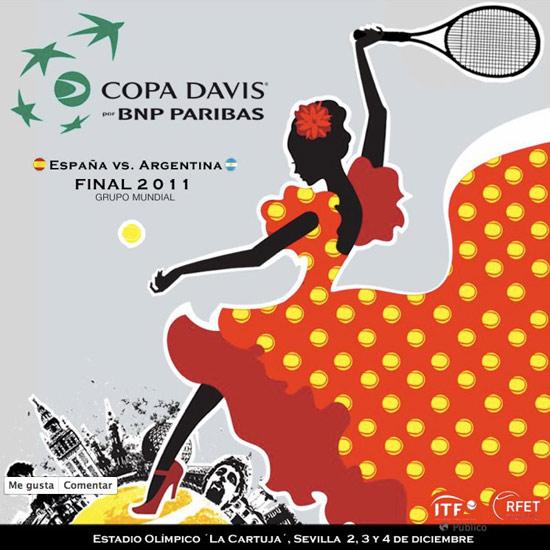 Cartel de la Copa Davis