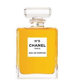 Chaneln5 El top 10 de las celebrities del packaging
