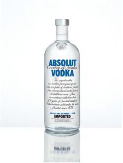 absolut vodka El top 10 de las celebrities del packaging