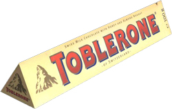 toblerone El top 10 de las celebrities del packaging