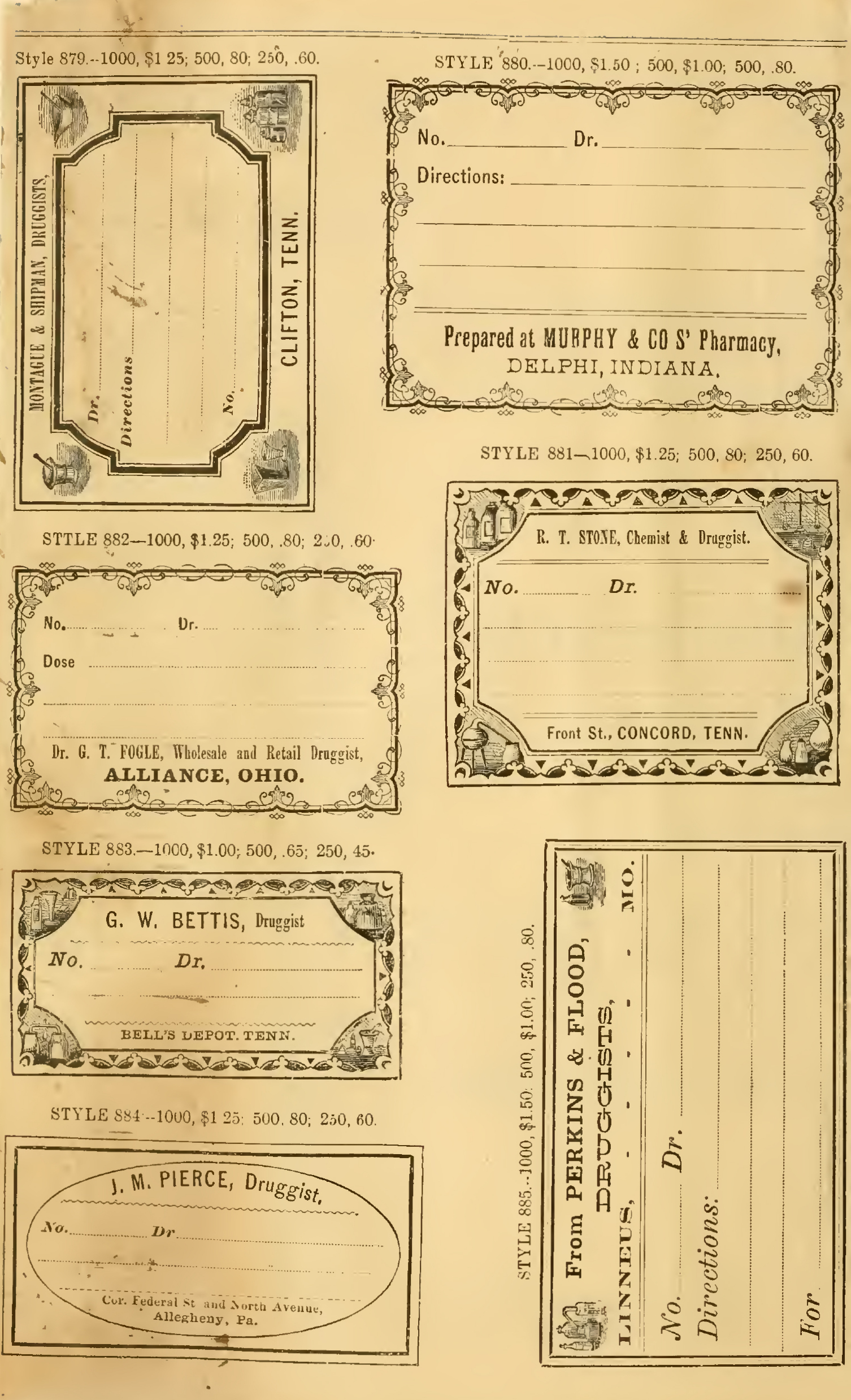 Free Printable Vintage Pharmacy Amp Apothecary Labels