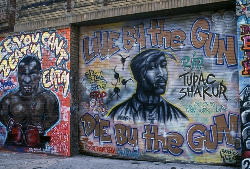 A charles tupac rip the great gallery of graffiti for 2pac mural new york