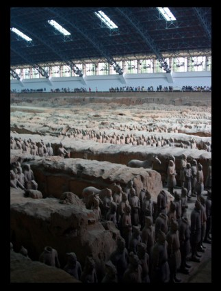 THE SCALE OF THE ARCHEOLOGICAL DIG WAS CRAZY!!!