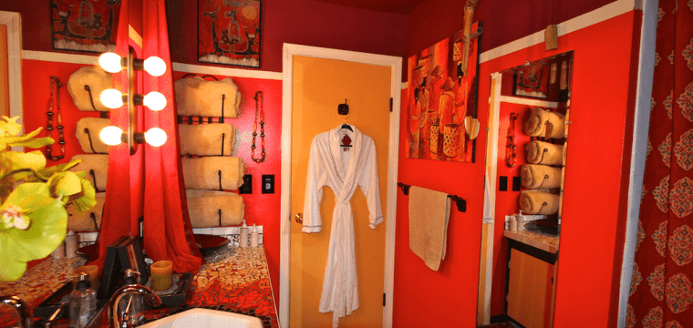 My Bathroom Facelift with a Balinese twist