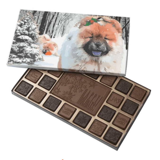 A SNOW DAY-BOX OF CHOCOLATES