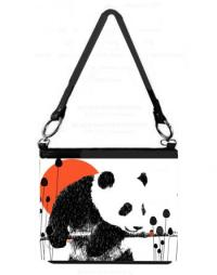 Image of LADY CUB AND LADYBUG long handle bucket bag