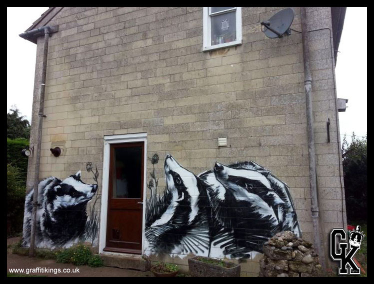 Badger Graffiti