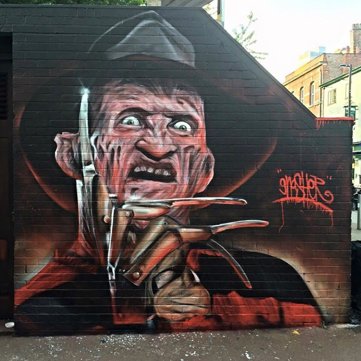 Graffiti Kings Artist David GNasher