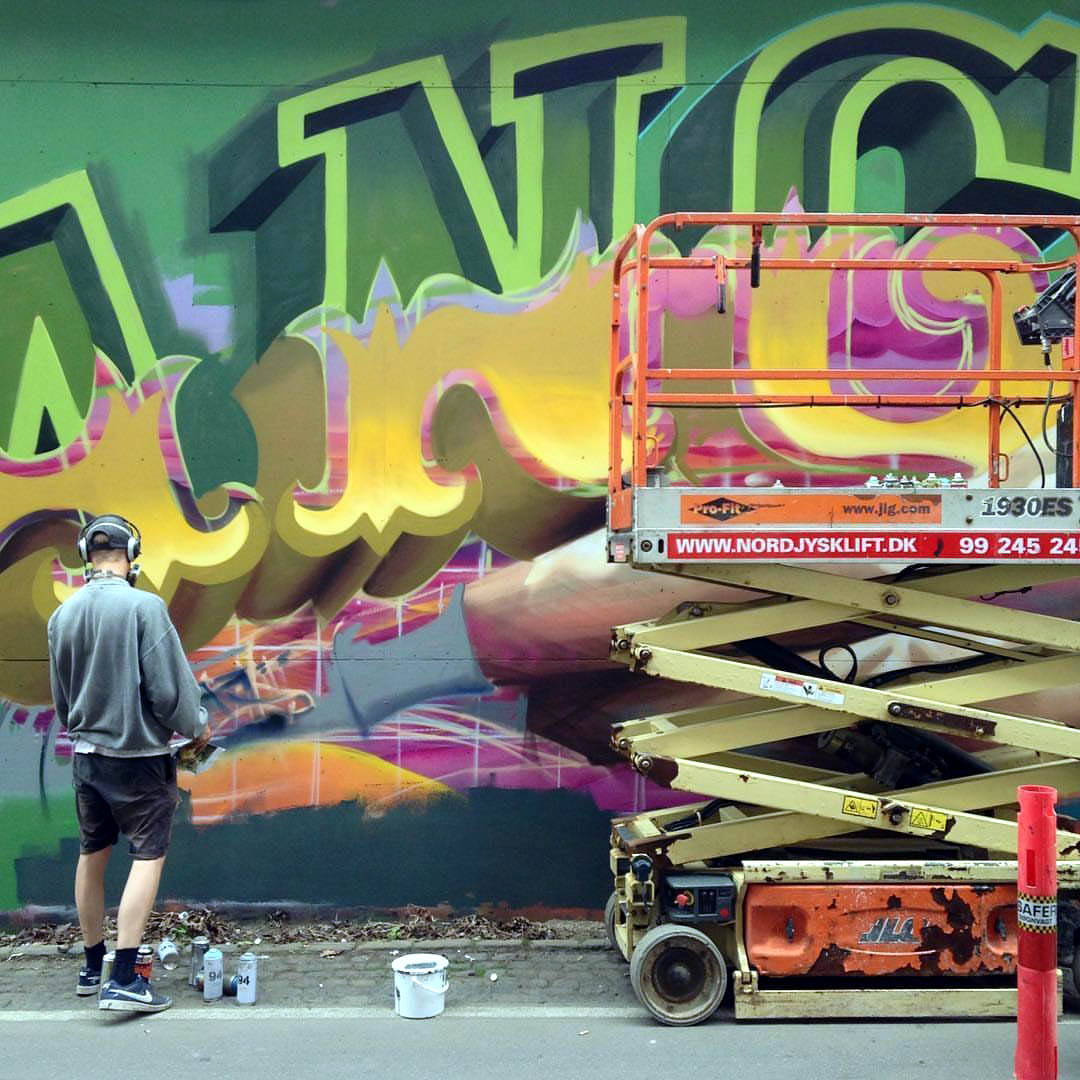 Graffiti Kings Street Artist Welin