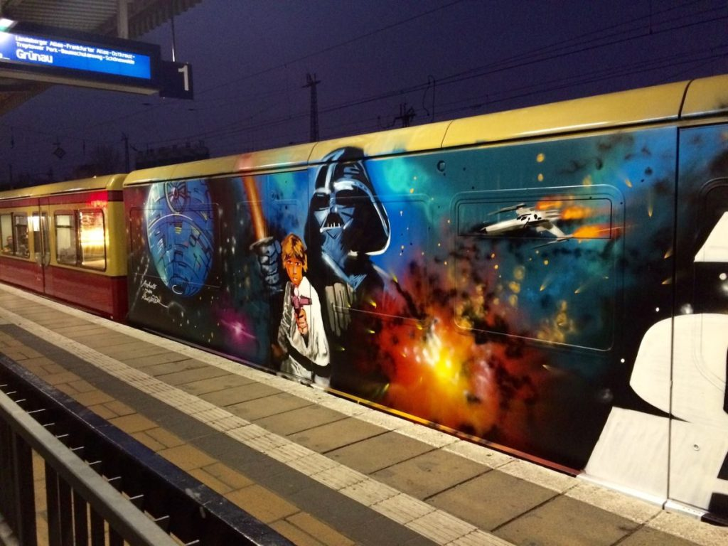 Force Awakens Star Wars Graffiti Art