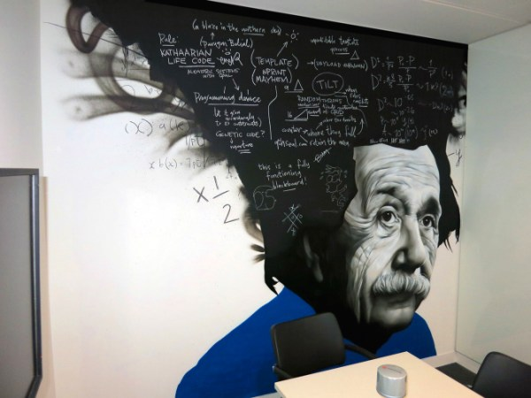 Graffiti Mural Albert Einstein