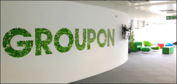 Groupon Office Graffiti Mural Artwork