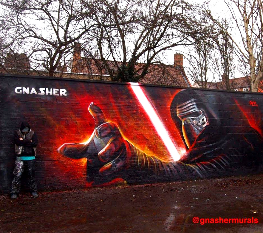 Star Wars Graffiti by gnasher