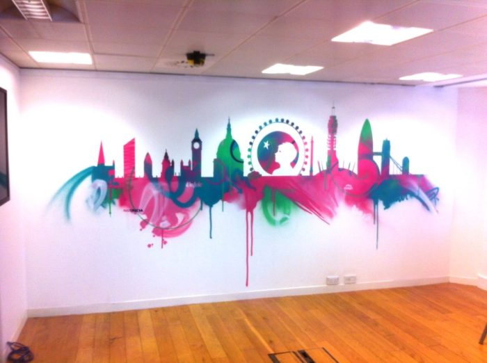 danone graffiti london