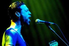 Dan Patlansky supporting Joe Satriani (copyright Michael Palmer)