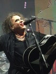Robert Smith of The Cure at Wembley Arena
