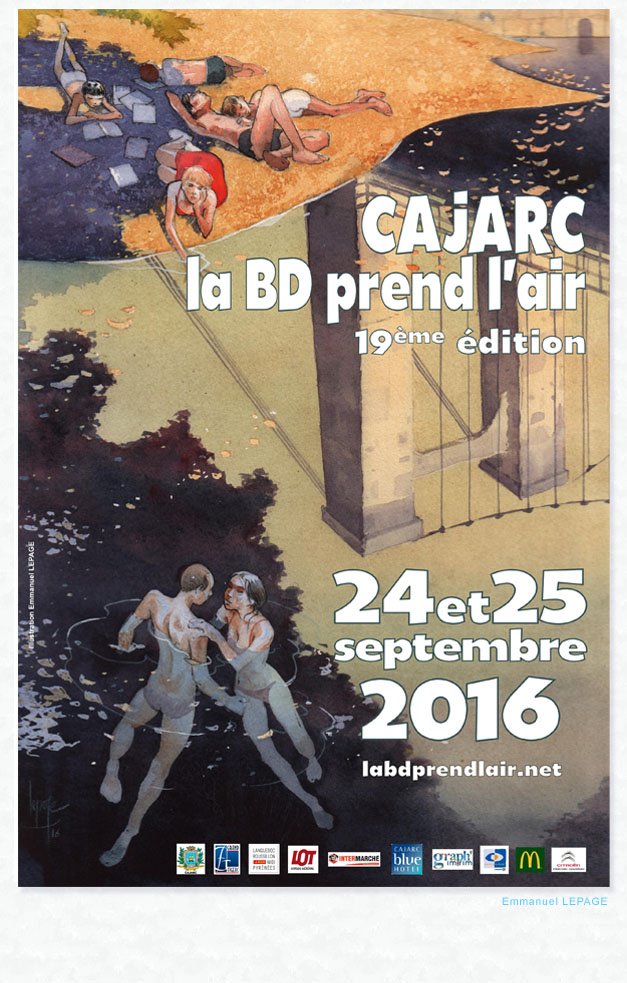 D dicaces la bd prend l air cajarc - Office de tourisme cajarc ...