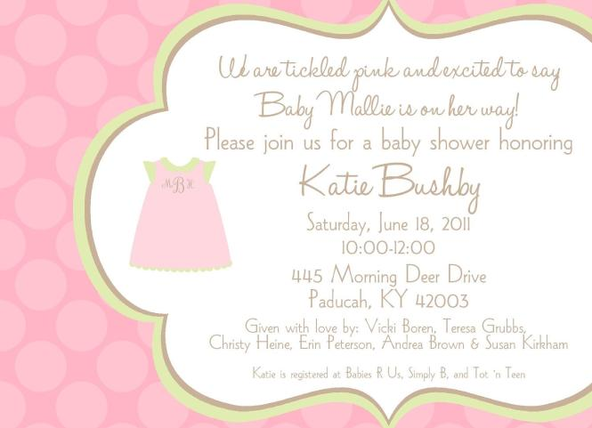 Baby Shower Invitation Wording You Can Look Western