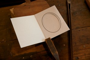Recordação de casamento, Tipografia Sintrense