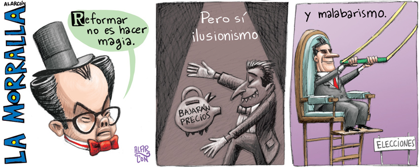 Circo legislativo - Alarcón