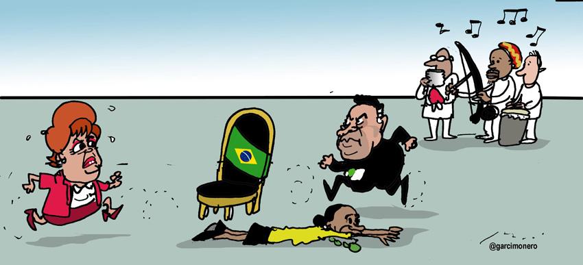 El juego de las sillas brasileño - Garcí