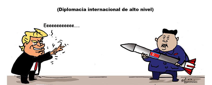Diplomacia internacional de alto nivel - Garcí