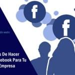Las 7 Ventajas De Hacer Publicidad En Facebook Para Tu Negocio o Empresa