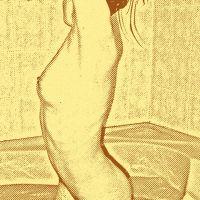Kobieta w kąpieli