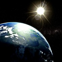 Ziemia widok z kosmosu
