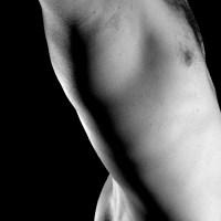 Ciało mężczyzny piersi pośladki tyłek Grafika Grafiki