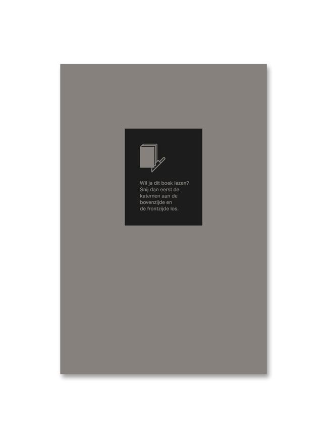 binnenpagina 'Multiple Choice' - vormgeving Miet Marneffe
