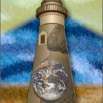 ATC pregnant lighthouse - front