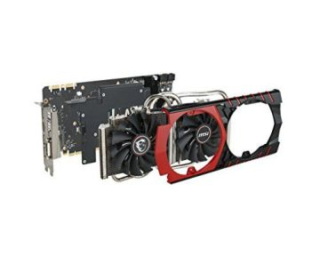 MSI V317-008R NVIDIA GeForce GTX980 Gaming Grafikkarte (PCI-e, 4GB GDDR5 HDMI, DVI, DisplayPort, 1 GPU) - 4