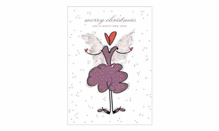 Kreative Weihnachtskarte - merry christmas - Grafik Design - grafik ZUM GLÜCK.CH