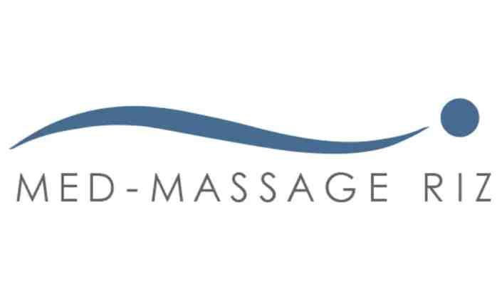 Logo Design - Med-Massage Riz - Grafik Design - grafik ZUM GLÜCK.CH