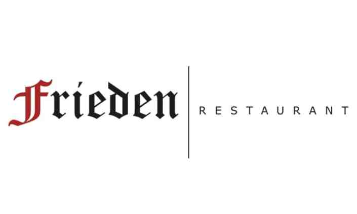 Logo Design - Restaurant Frieden - Grafik Design - grafik ZUM GLÜCK.CH