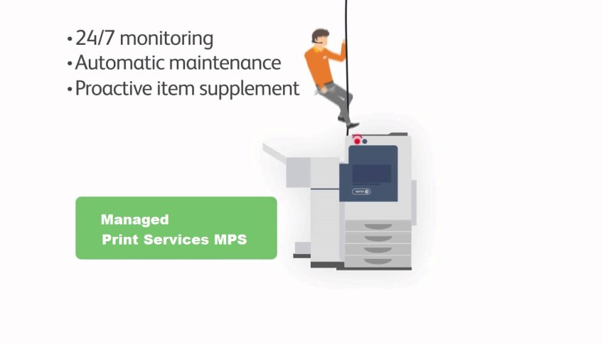 Xerox Managed Print Services MPS by Grafimedia