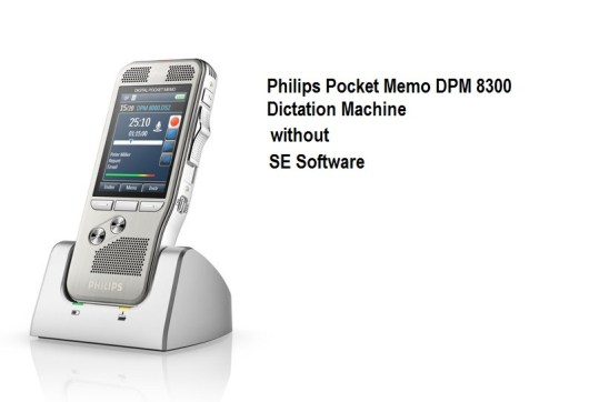 Philips Pocket Memo DPM 8300 Dictation Machine